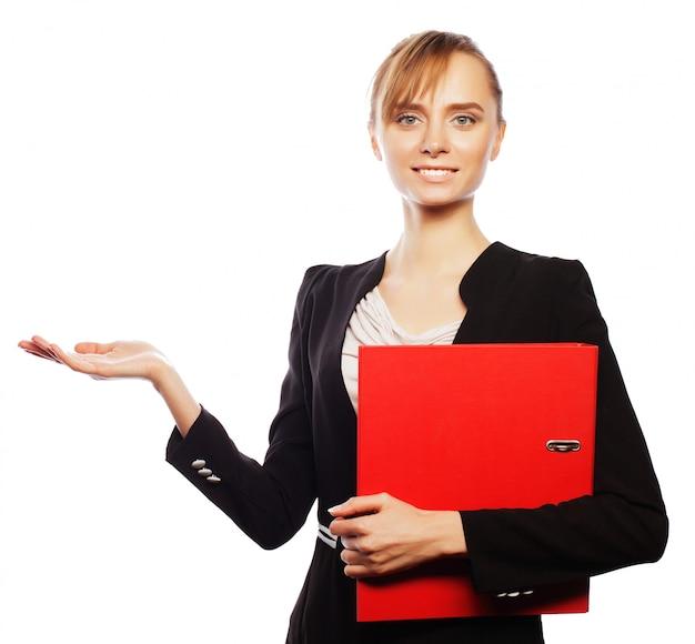 Giovane donna d'affari