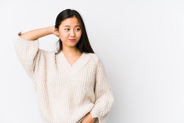 Giovane donna cinese