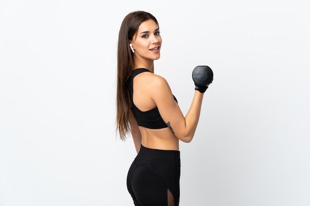 Giovane donna sportiva