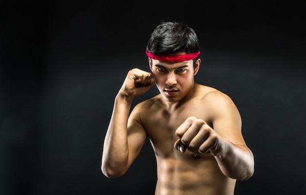 Giovane lottatore