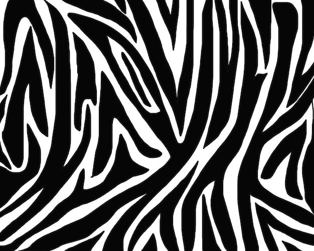Trama del modello di pelle di zebra