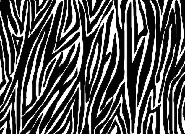 Modello di pelle di zebra