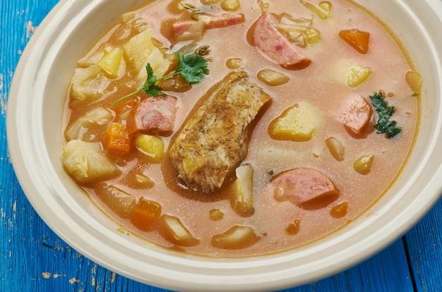 Zelnacka - zuppa di cavolo boemo