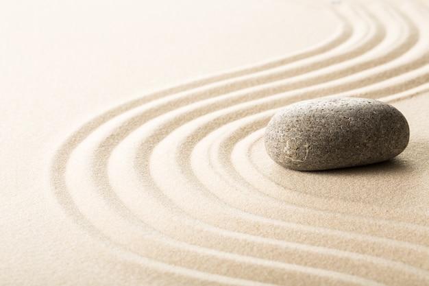 Concetto zen per il massaggio ayurvedico