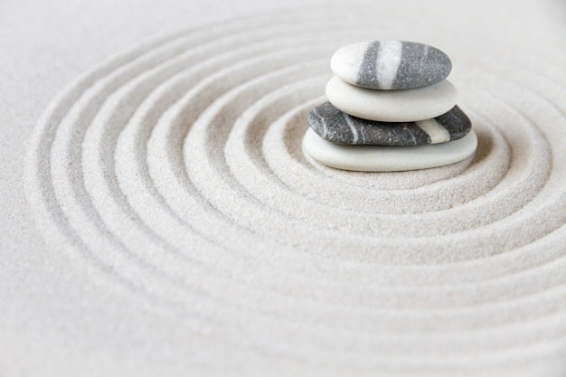 Zen giardino giapponese sfondo