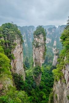 Montagne zhangjiajie, cina