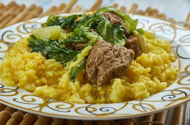 Zilzil alecha - manzo etiope in salsa di peperoni verdi