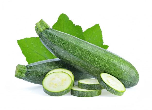 Zucchine isolate
