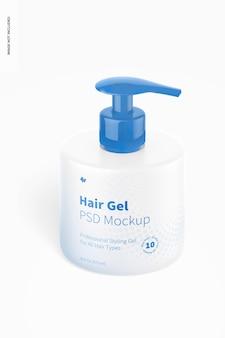 Mockup di gel per capelli da 16,9 once