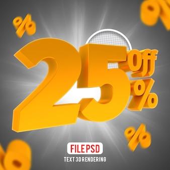 25% di sconto sulla composizione creativa di golden