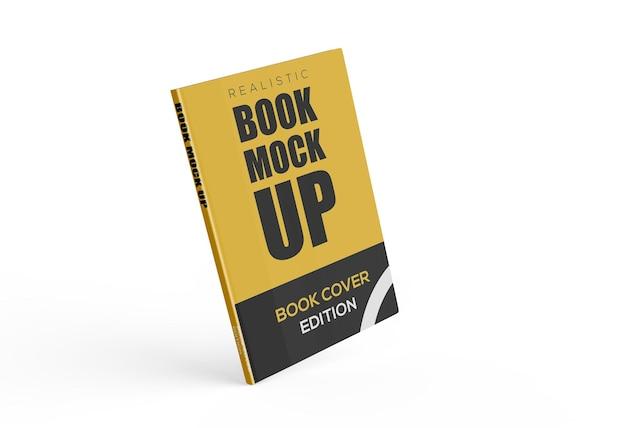 Progettazione del modello del libro 3d isolata