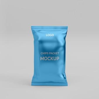 Modello di pacchetto di chip 3d