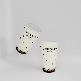 Mockup di tazza di caffè 3d