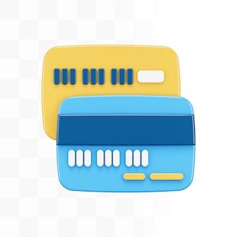 Carta di credito 3d