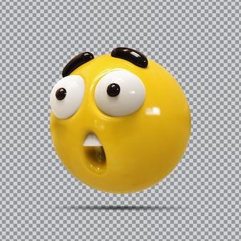 Emoji 3d facebook wow