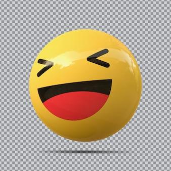 Divertimento con emoji 3d su facebook