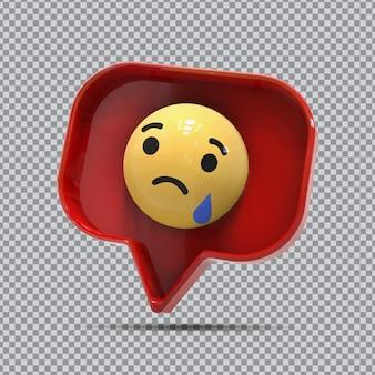 Emoji 3d ha detto su facebook