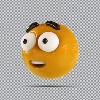 Emoji facebook 3d wow