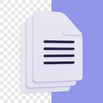 Progettazione del concetto di file 3d