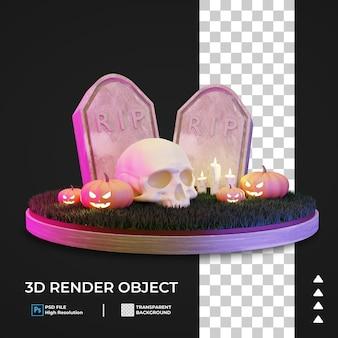 Icona di halloween 3d