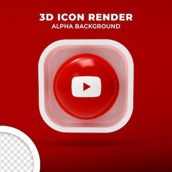 Icona 3d isolata