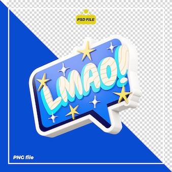 3d lmao design