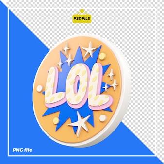 Lol design 3d