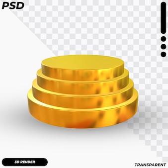 Podio di lusso 3d Psd Premium