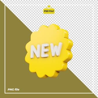 Nuova icona 3d