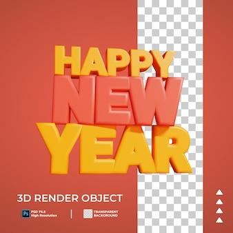 Anno nuovo 3d