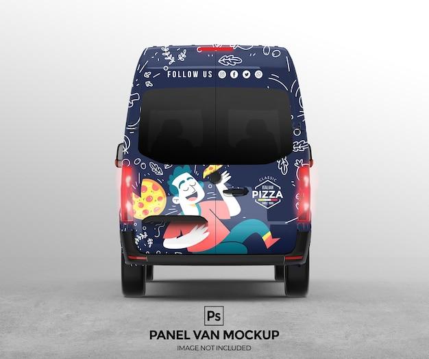 Progettazione di mockup di furgoni 3d