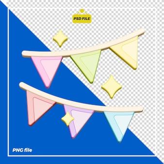 Progettazione di decorazioni per feste 3d