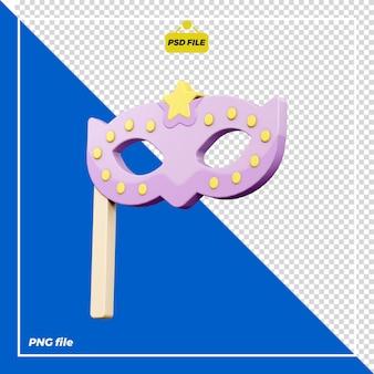 Design della maschera per feste 3d