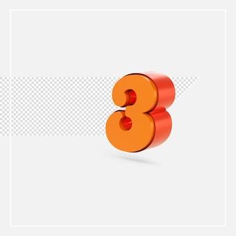 3d rendono l'alfabeto color oro isolato