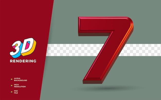 3d render simbolo isolato dei mesi di febbraio del calendario per promemoria o pianificazione quotidiana