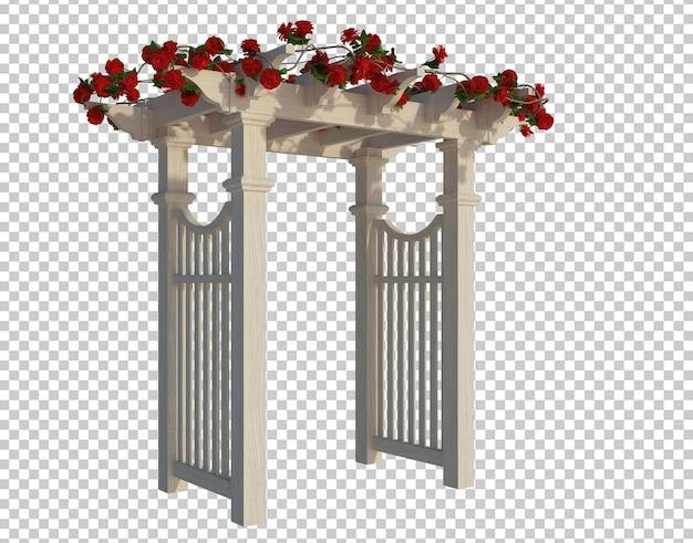 3d render piante di edera isolate