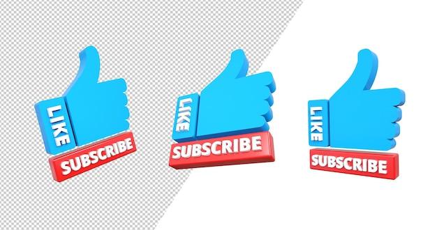 Rendering 3d youtube mi piace e iscriviti al mio canale