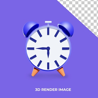 Sveglia con rendering 3d
