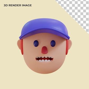 Rendering 3d avatar