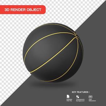 Icona di basket rendering 3d