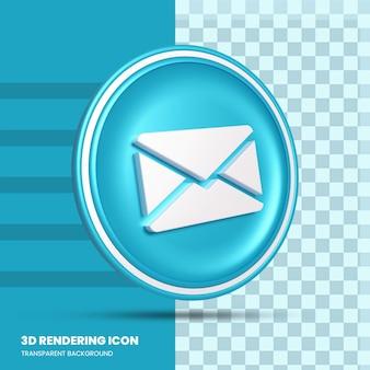 Icona di rendering 3d