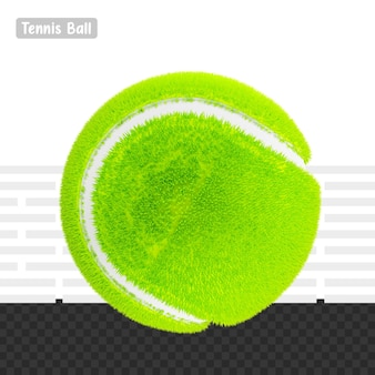 3d rendering palla da tennis