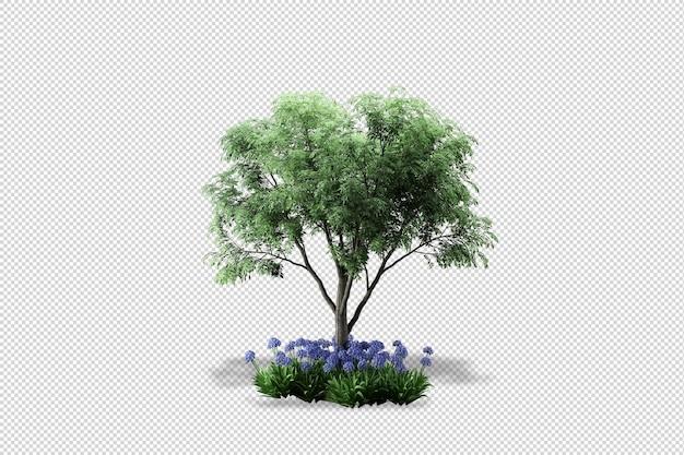 Rendering 3d di vari tipi di composizioni ornamentali