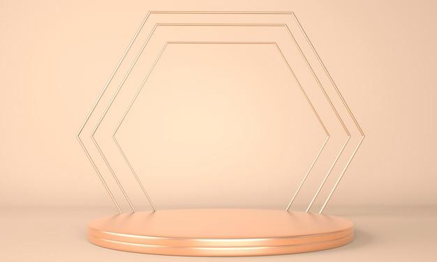 Rendering 3d con forme geometriche