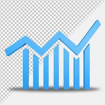 Icona statistica 3d