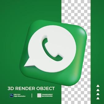 Icona whatsapp 3d