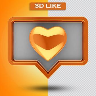 3d icona come trasparente 3d