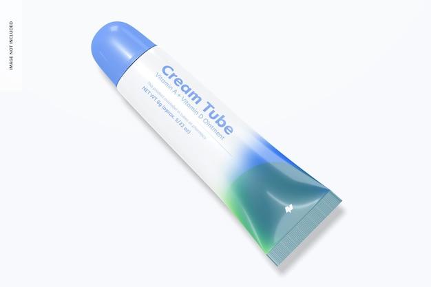 Mockup di tubo crema da 8 g 8