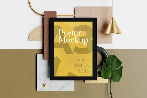 Mockup di poster a3