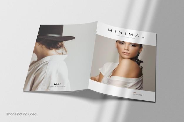 Mockup di copertina brochure a4